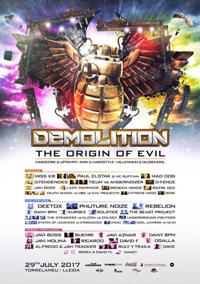 Demolition the origin of evil completo