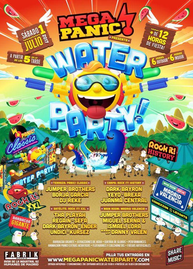 Fabrik - Panic! Water Party
