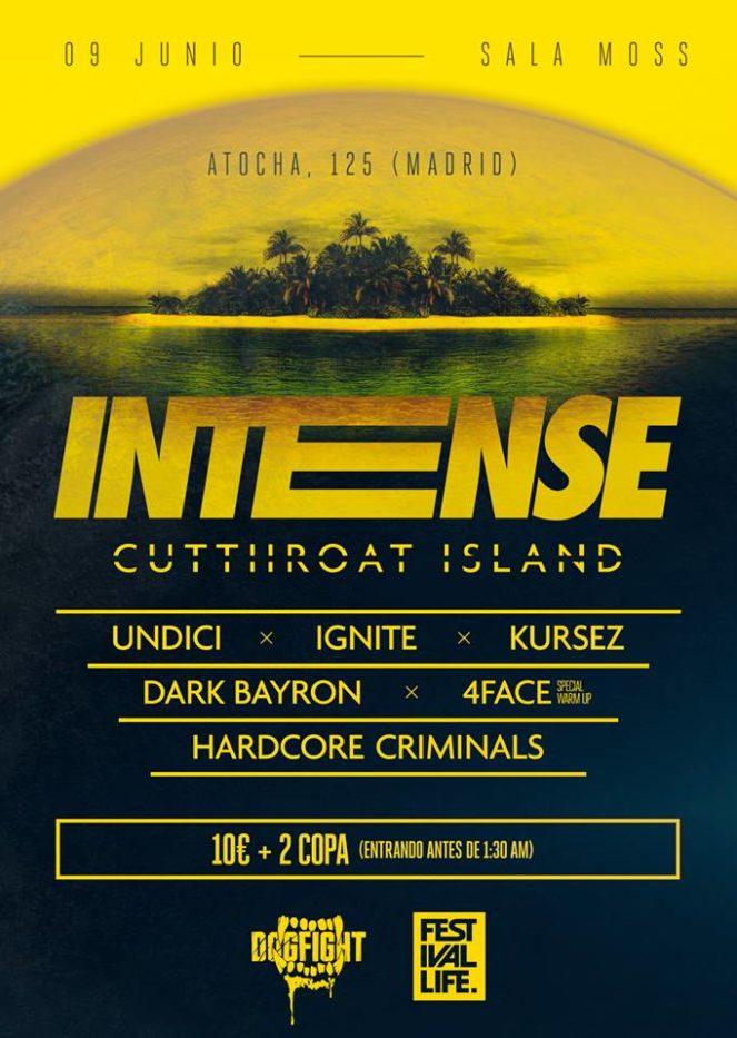 Intense - Cutthroat Island