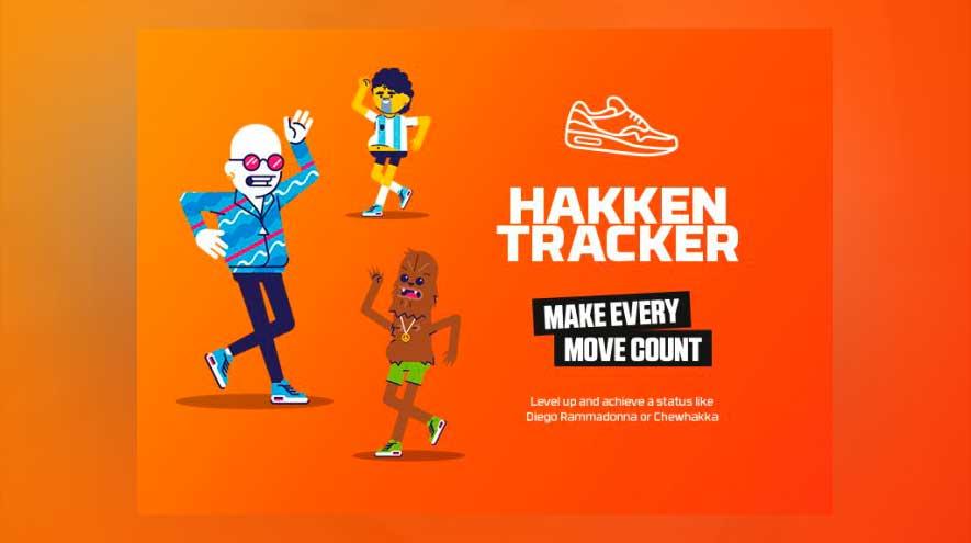 ¿Cuanto bailas? Con Hakken Tracker lo sabrás
