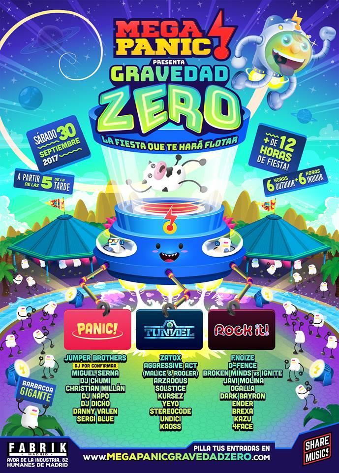 MegaPanic - Gravedad Zero final