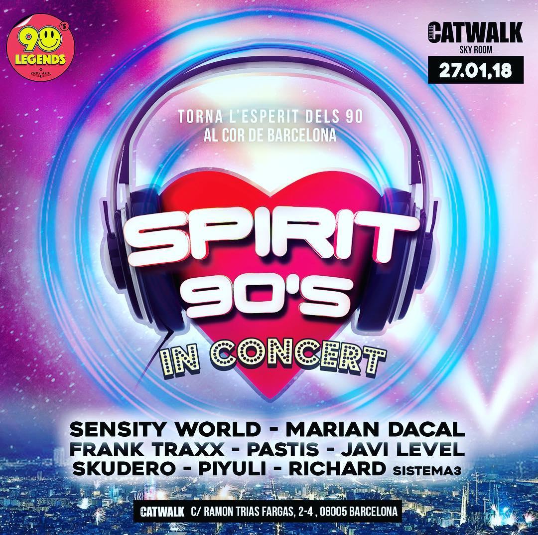 Catwalk - Spirit 90 In Concert