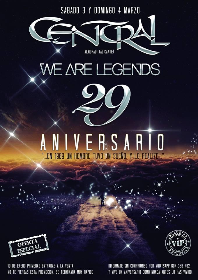Central - 29 aniversario