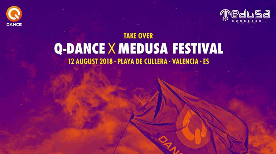 Medusa 2018 Q-Dance Stage