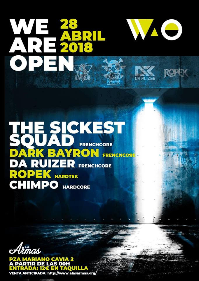 Las Armas - We Are Open