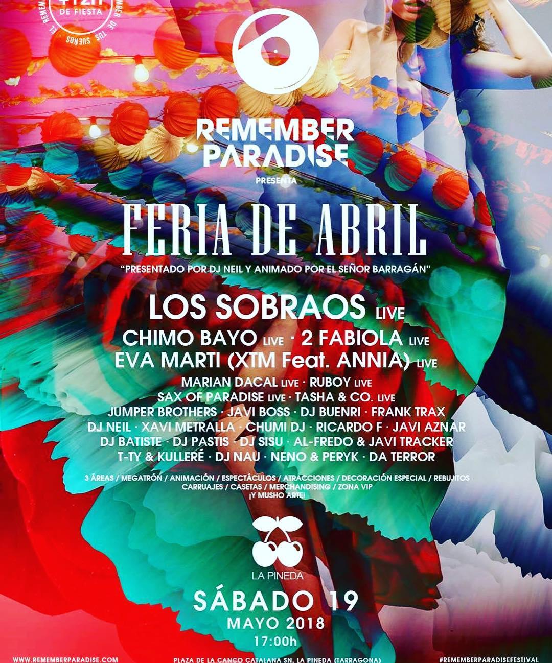 Pacha - Remember Paradise: Feria de Abril