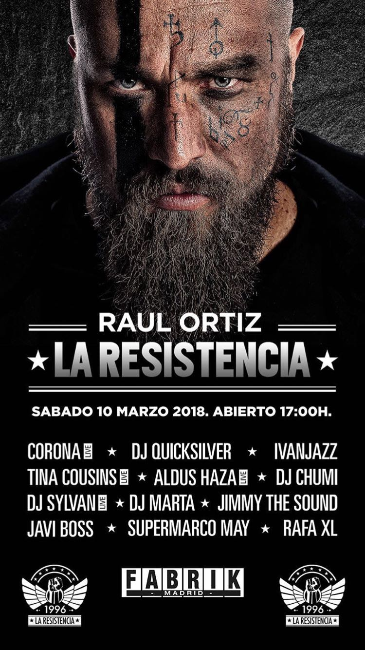 Fabrik - La Resistencia line up