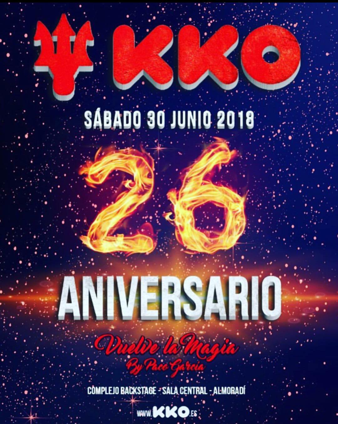 KKO - 26 aniversario