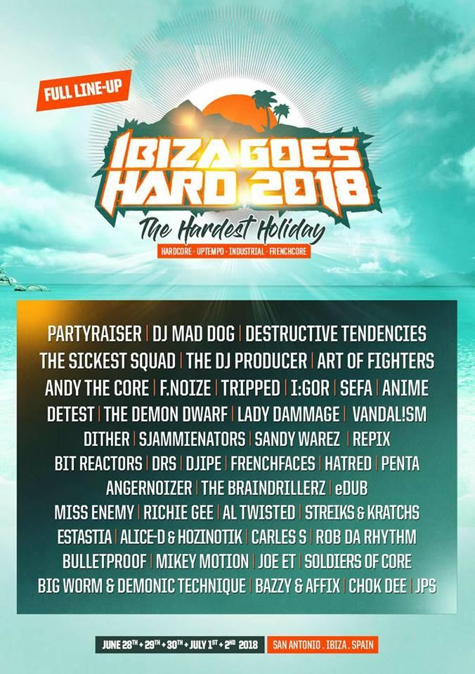IBIZA GOES HARD 2018