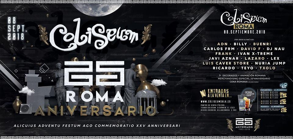 Coliseum - 25 aniversario