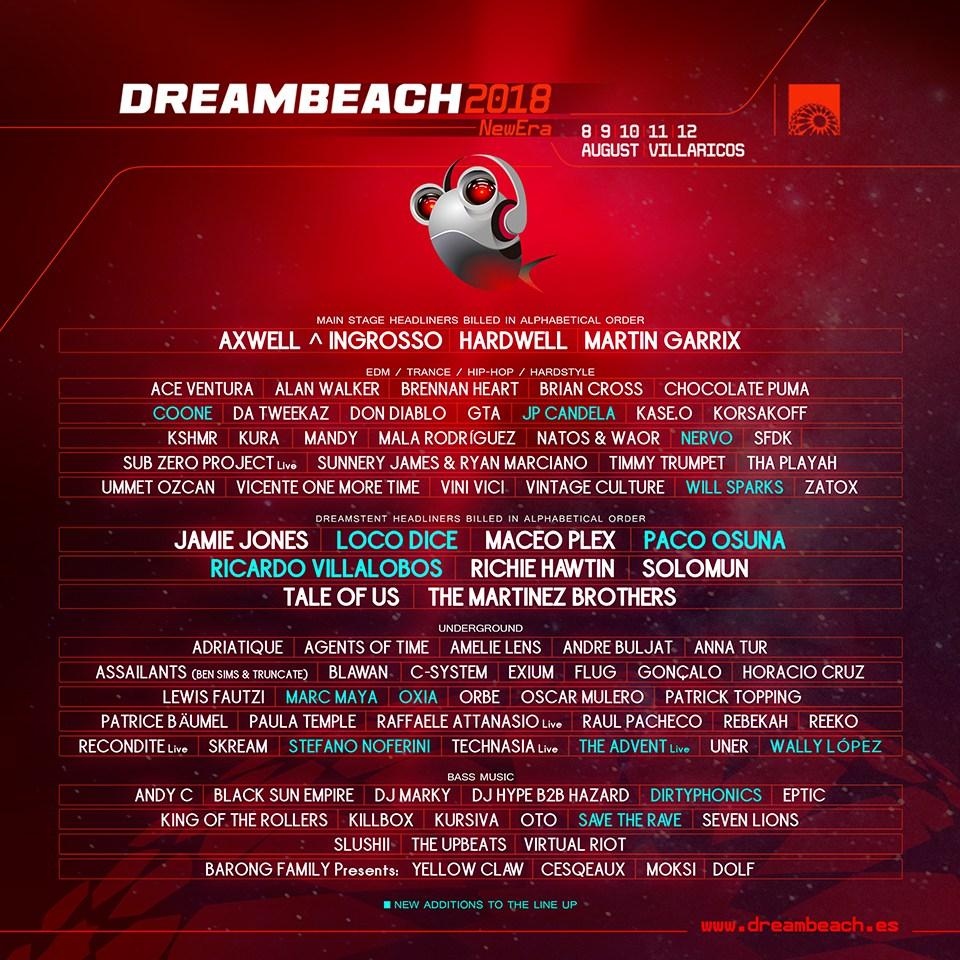 Dreambeach 2018 final