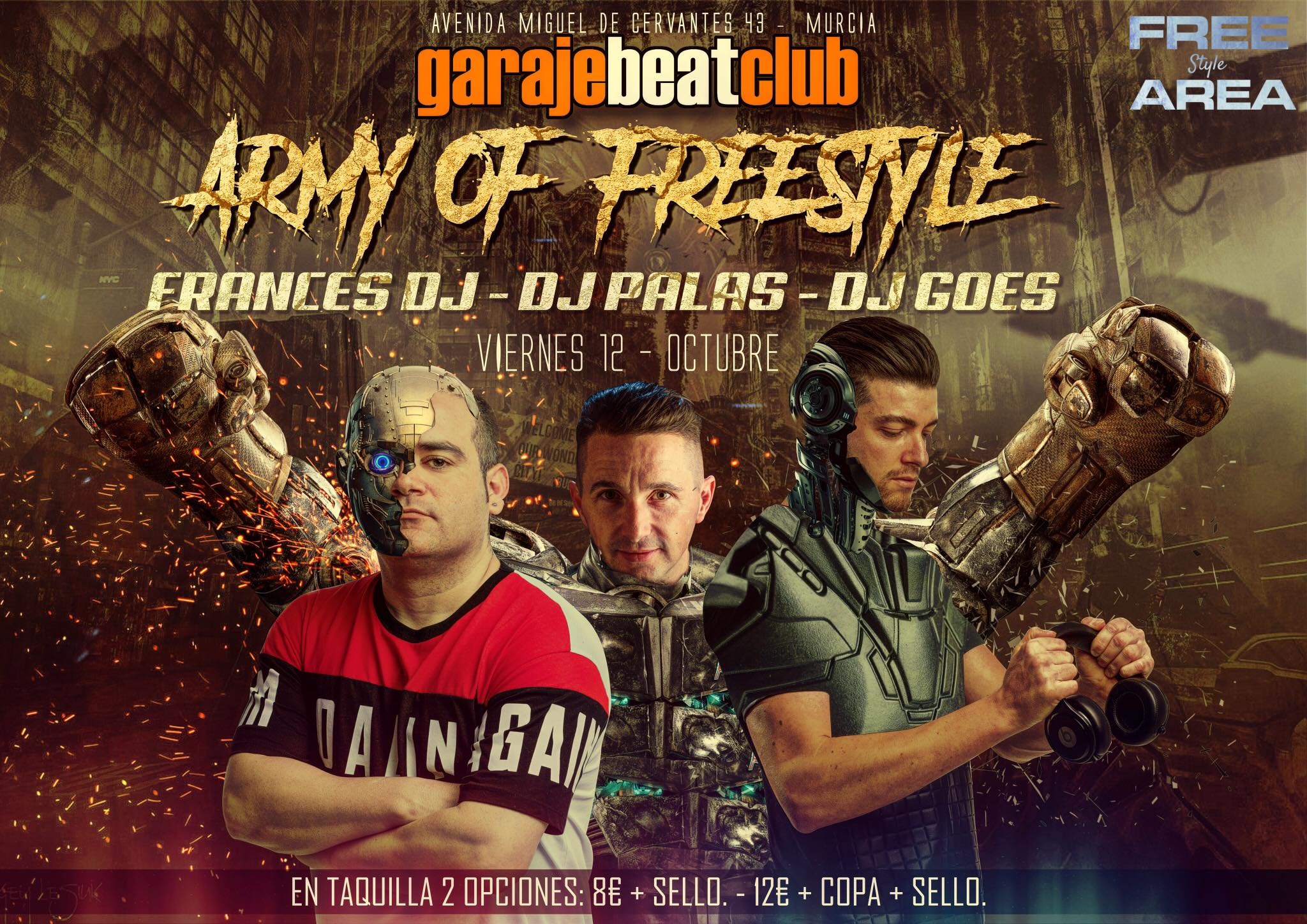 Garaje Beat Club - Army Of Freestyle