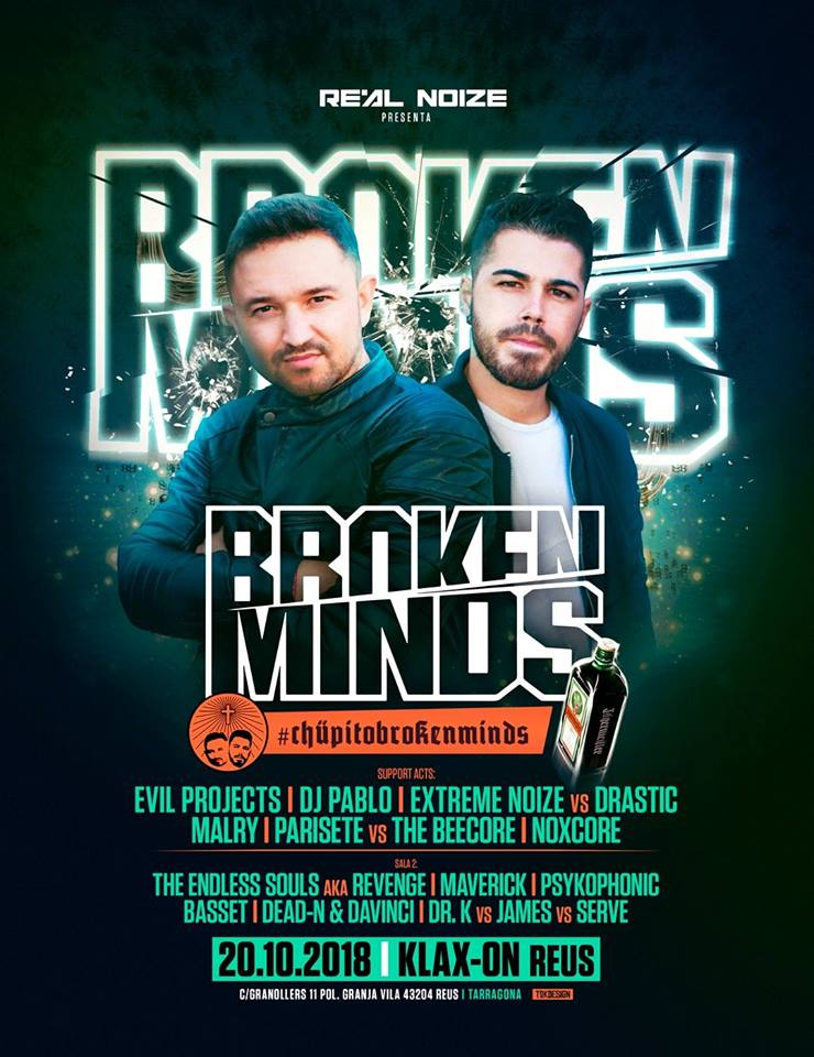 Klax-On - Broken Minds