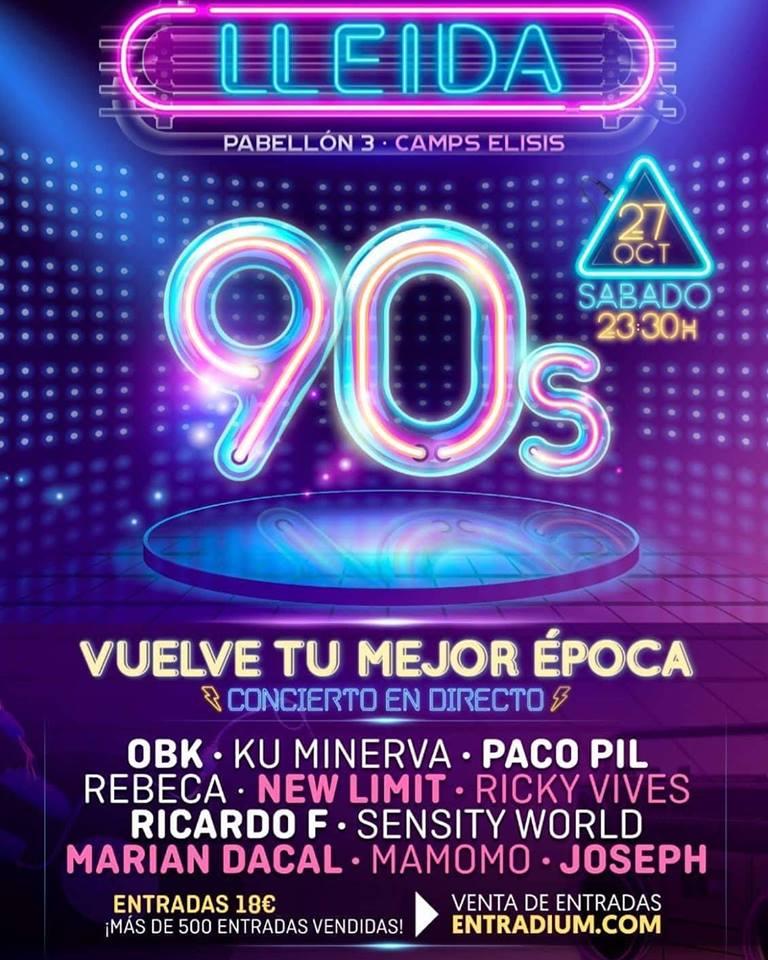 Pabellón Camps Elisis - Lleida 90s