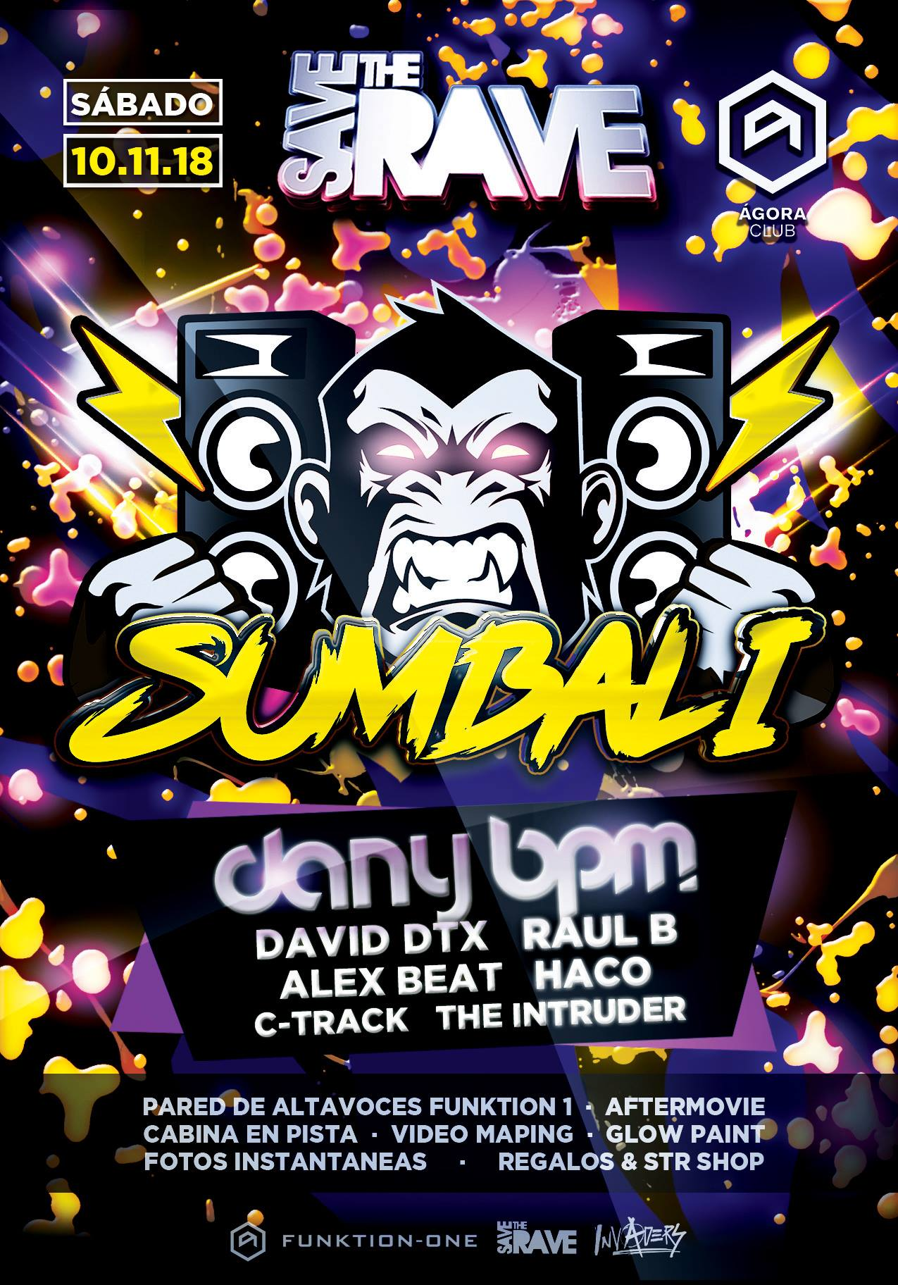 Save The Rave - Sumbali Dany BPM