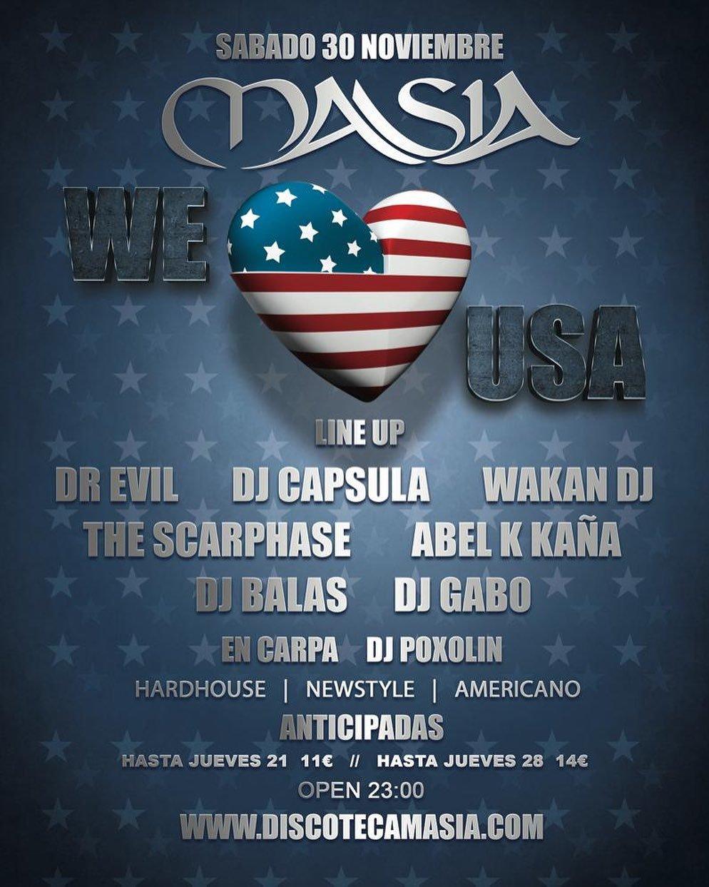 Masia - We Love USA